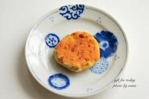 ひきわり納豆と高野豆腐のおやき